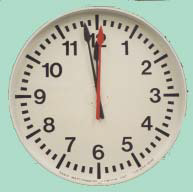 "Sanio 36"" Wall Mounted Clock"