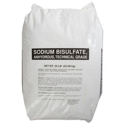 Sodium Bisulphate 25KG Bag