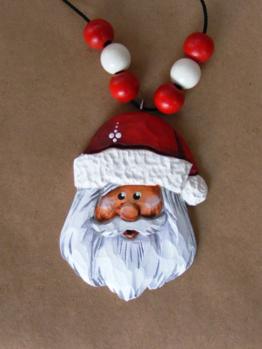 """Santa Necklace"" #1/96"