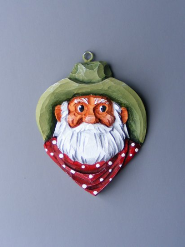 """Mini Cowboy Ornament"" - #156/307"