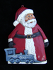 """Personalized Full Santa W/Train"" 1/118"