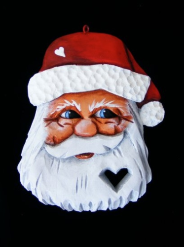 Santa W/Heart In Beard - #1/156