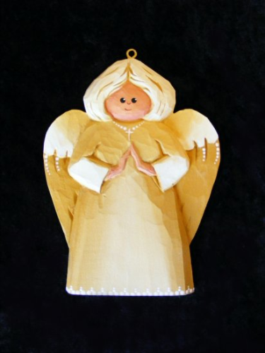 """Angel Ornament"" - Yellow #1/77"