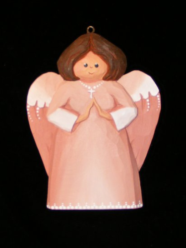 """Angel Ornament"" - Pink #1/77"