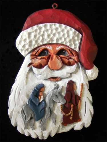 "Full Color 2014 Nativity Santa - ""Life's Journey"" 20/303"
