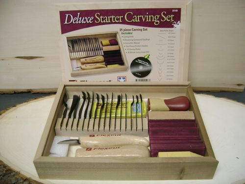"""Deluxe Starter Carving Set"" - #259.02"
