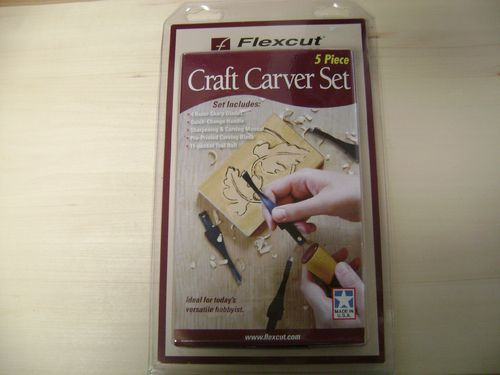 """5 Piece Craft Carver Set"" - #259/254"