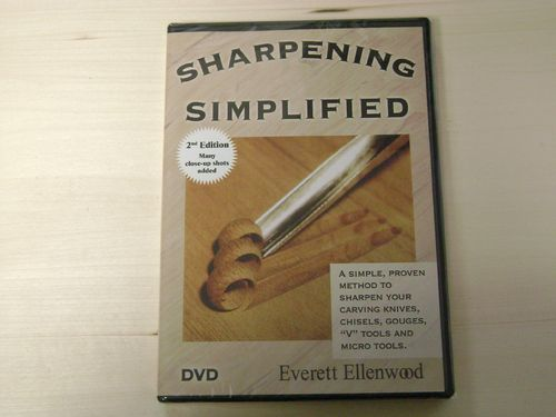 """Sharpening Simplified DVD"" - #504/33"