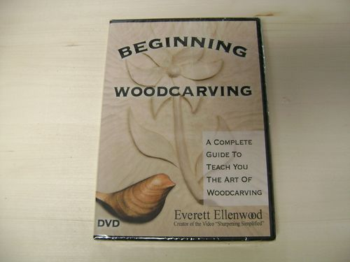 """Beginning Woodcarving DVD"" - #504/30"