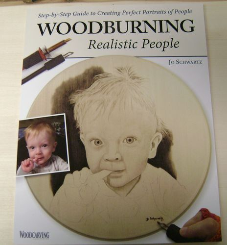 """Woodburning Realistic People"" - #409/257"