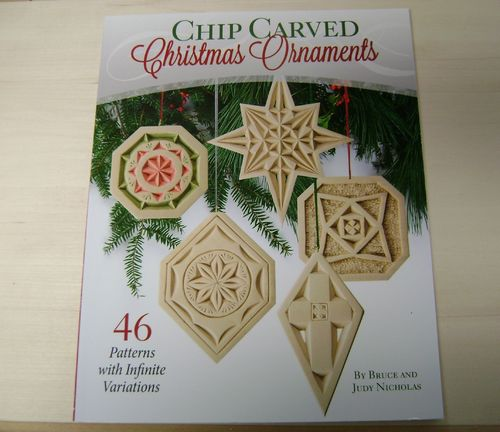 """Chip Carved Christmas Ornaments"" - #409/225"