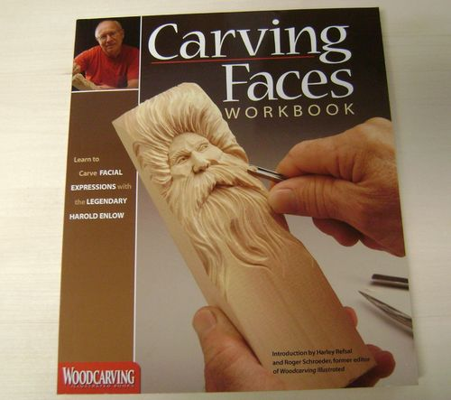 """Carving Faces Workbook"" - #409/162"