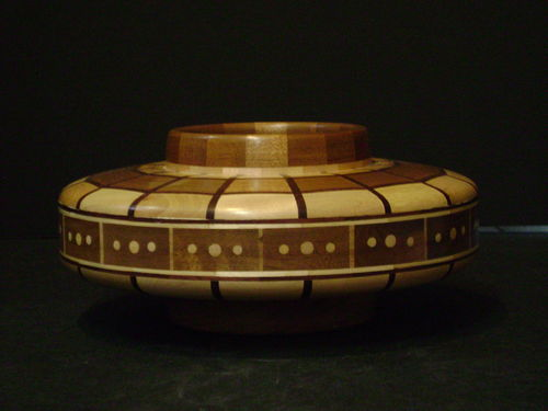"Bill Richman ""Segmented Bowl"" - #543/08"
