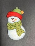 Little Snowman with Scarf 20.358