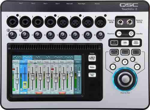 QSC Touchmix8 Digital Mixer